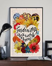 Gardening is a work of heart 11x17 Poster lifestyle-poster-2