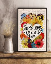 Gardening is a work of heart 11x17 Poster lifestyle-poster-3