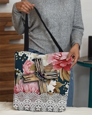 Floral bag All-over Tote aos-all-over-tote-lifestyle-front-10
