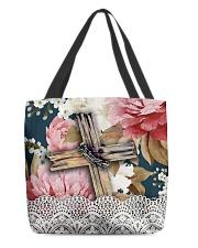 Floral bag All-Over Tote tile