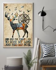Into The Forest I Go 11x17 Poster lifestyle-poster-1