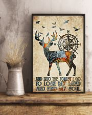Into The Forest I Go 11x17 Poster lifestyle-poster-3