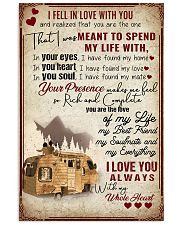 I fell in love with you 11x17 Poster front