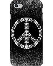 Peace sign - Printed phone case Phone Case i-phone-8-case
