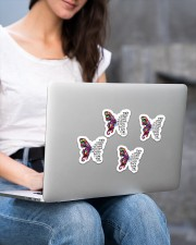 They whispered to her Sticker - 4 pack (Vertical) aos-sticker-4-pack-vertical-lifestyle-front-15