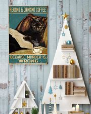 Reading and drinking coffee 11x17 Poster lifestyle-holiday-poster-2