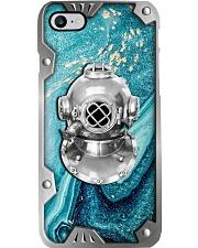 Sucba Diving Metal Pattern Print  Phone Case i-phone-8-case