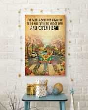 Live with a spirit for adventure 11x17 Poster lifestyle-holiday-poster-3