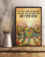Live with a spirit for adventure 11x17 Poster lifestyle-poster-3