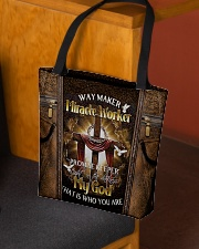That's who you are leather pattern print All-over Tote aos-all-over-tote-lifestyle-front-02