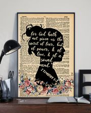 For god hath not given 11x17 Poster lifestyle-poster-2