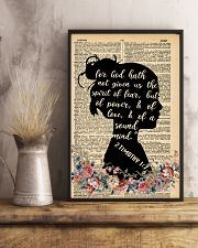 For god hath not given 11x17 Poster lifestyle-poster-3