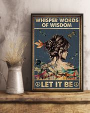Whisper words of wisdom 11x17 Poster lifestyle-poster-3