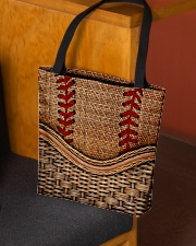 Softball lover All-over Tote aos-all-over-tote-lifestyle-front-02