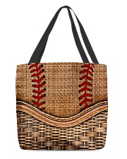 Softball lover All-over Tote back