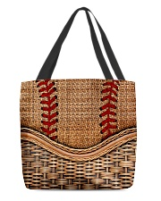 Softball lover All-over Tote front