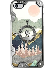Hiking Metal Pattern Print Phone Case i-phone-7-case