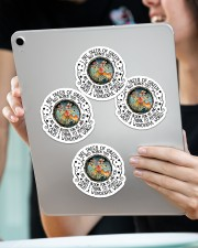 I see trees of green Sticker - 4 pack (Vertical) aos-sticker-4-pack-vertical-lifestyle-front-11