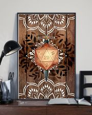 Mandala poster 11x17 Poster lifestyle-poster-2