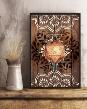 Mandala poster 11x17 Poster lifestyle-poster-3