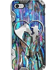 Horse addiction metal print pattern Phone Case i-phone-8-case