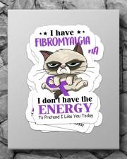 Fibromyalgia sticker Sticker - 4 pack (Vertical) aos-sticker-4-pack-vertical-lifestyle-front-09