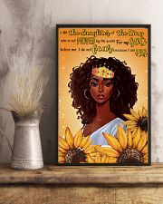 I am the daughter of the kings 11x17 Poster lifestyle-poster-3