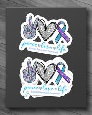 Peace love hope Sticker - 4 pack (Horizontal) aos-sticker-4-pack-horizontal-lifestyle-front-10