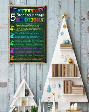 5 steps to manage emotions 11x17 Poster lifestyle-holiday-poster-2