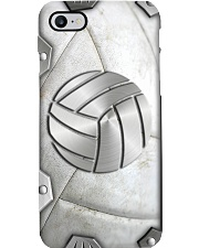 Volleyball Metal pattern print  Phone Case i-phone-8-case