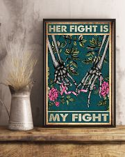 Her fight is my fight 11x17 Poster lifestyle-poster-3