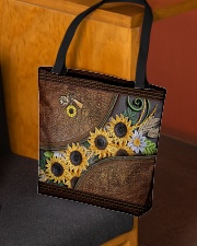 My Sunshine Quilling Pattern Print All-over Tote aos-all-over-tote-lifestyle-front-02