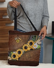 My Sunshine Quilling Pattern Print All-over Tote aos-all-over-tote-lifestyle-front-10