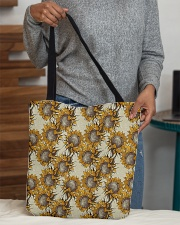Retro sunflower All-over Tote aos-all-over-tote-lifestyle-front-10