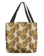 Retro sunflower All-over Tote front