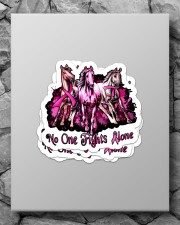 No one fights alone Sticker - 4 pack (Vertical) aos-sticker-4-pack-vertical-lifestyle-front-09