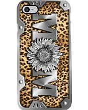 Leopard Sunflower mom - Printed phone case Phone Case i-phone-8-case