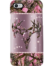 Country Girl Metal Pattern Print Phone Case i-phone-8-case