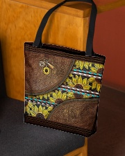 Love sunflowers  All-over Tote aos-all-over-tote-lifestyle-front-02