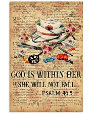 God is within her 11x17 Poster front