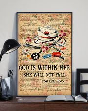 God is within her 11x17 Poster lifestyle-poster-2