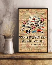 God is within her 11x17 Poster lifestyle-poster-3