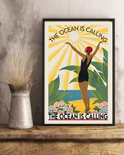 The ocean is calling 11x17 Poster lifestyle-poster-3