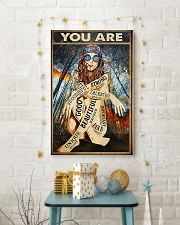 You Are Enough 11x17 Poster lifestyle-holiday-poster-3