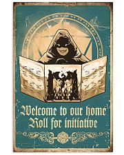 Welcome to our home 11x17 Poster front
