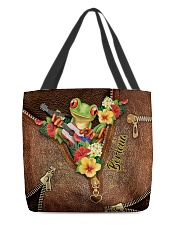 Puerto Rican Pride Leather Pattern Print All-over Tote front