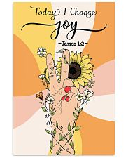 Today I choose joy 11x17 Poster front