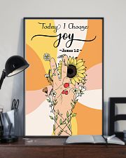 Today I choose joy 11x17 Poster lifestyle-poster-2