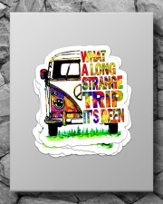 What a long strange trip it's been Sticker - 4 pack (Vertical) aos-sticker-4-pack-vertical-lifestyle-front-09