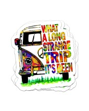 What a long strange trip it's been Sticker - 4 pack (Vertical) front